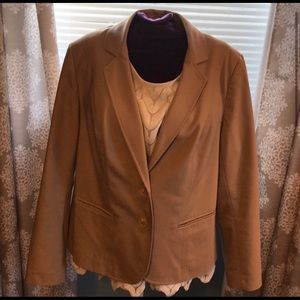 Tan Lane Bryant Blazer / Jacket
